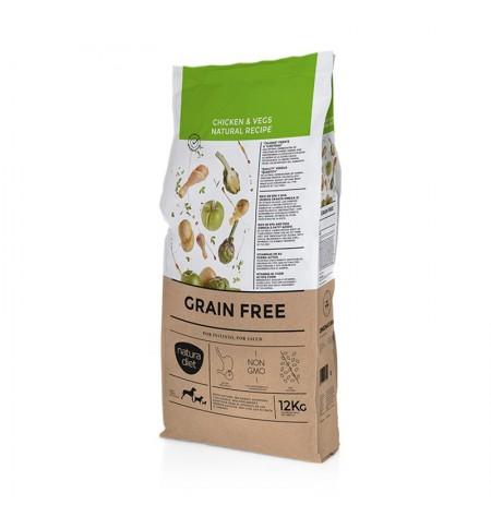 Natura diet grain free chiken & vegs (pollo y verduras)