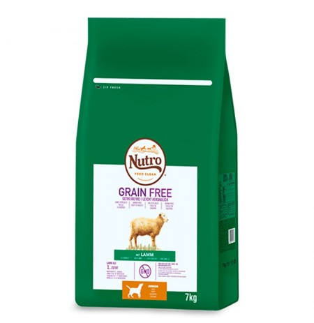 Nutro grain free cachorro razas medianas de cordero