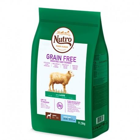 Nutro grain free cordero para perros grandes