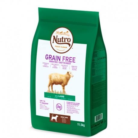 Nutro grain free cordero para perros medianos