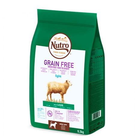Nutro grain free light cordero para perros