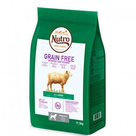 Nutro grain free senior cordero para perros ancianos