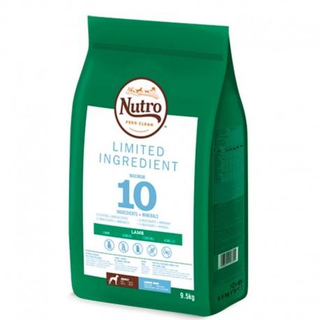 Nutro limited ingredient cordero razas grandes