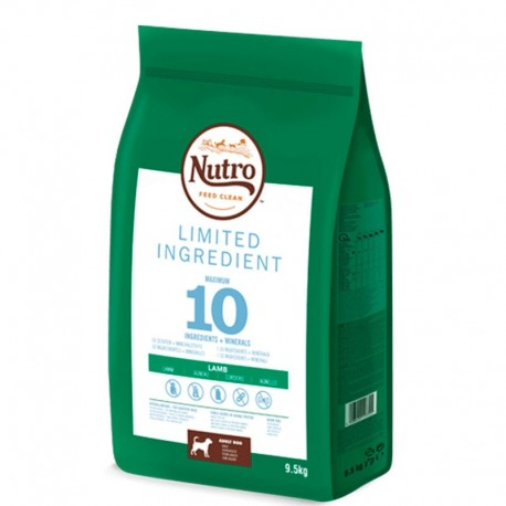 Nutro limited ingredient cordero razas medianas
