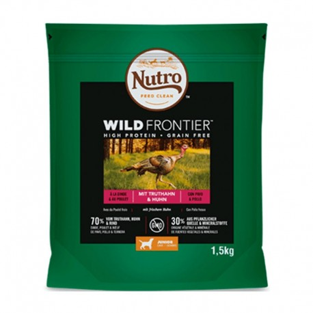 Nutro wild frontier cachorro pavo y pollo