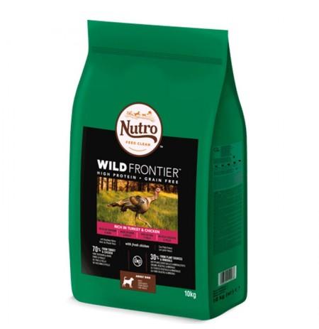 Nutro wild frontier pavo y pollo para perros medianos