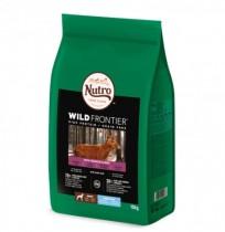 Nutro wild frontier venado y ternera razas grandes