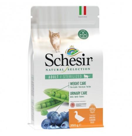 Schesir pato sterilized pienso natural para gatos