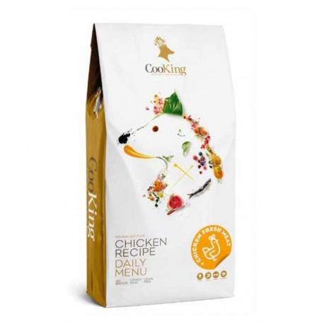 Cooking chicken (pollo) grain free para perros adultos