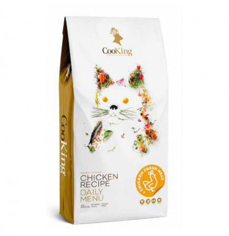 Cooking cat adult chicken (pollo) grain free para gatos