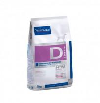Virbac d1 dermatology support para perros