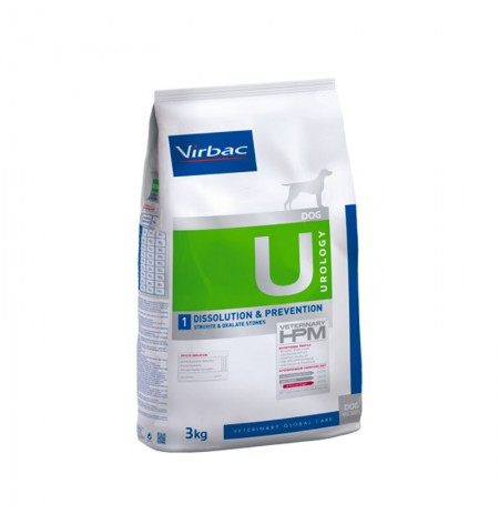 Virbac u1 urology dissolution & prevention para perros