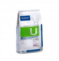 Virbac u1 urology dissolution & prevention para perros