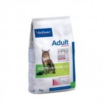 Virbac cat adult with salmon neutered & entire