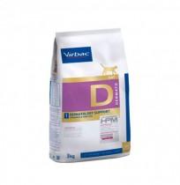 Virbac d1 cat dermatology support