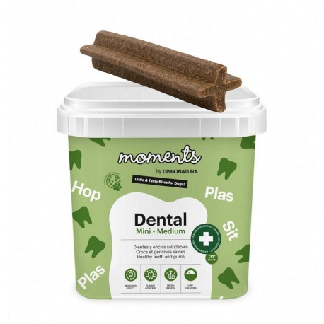Moments dental mini-medium snacks para perros medianos y mini
