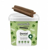 Moments dental mini-medium snacks para perros medianos y mini