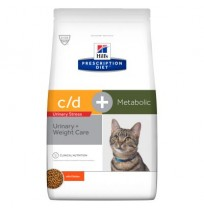 Hill's prescription diet feline c/d urinary stress + Metabolic (reduced calorie)