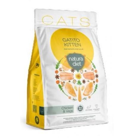 Natura diet kitten para gatitos