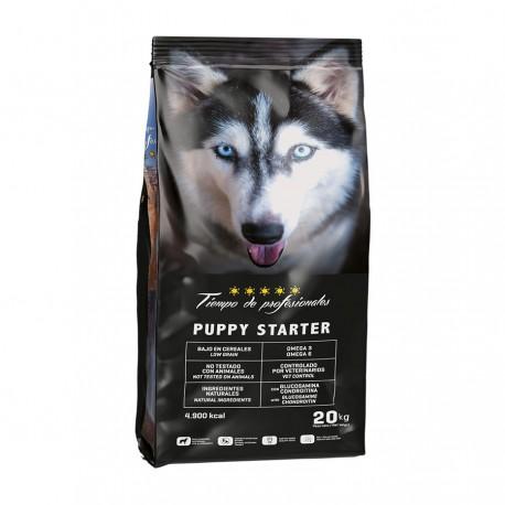 Tiempo de profesionales puppy starter low grain para perros