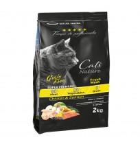 Tiempo profesionales cat salmón y pollo grain free para gatos