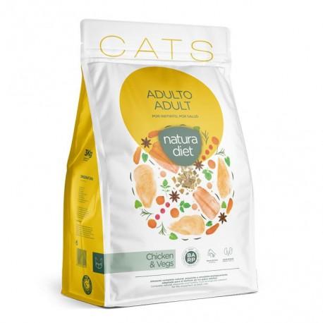 Natura diet cats adult chicken para gatos adultos