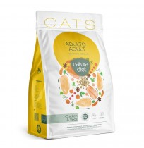 Natura diet cats adult chicken para gatos adultos