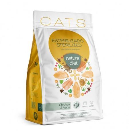 Natura diet cat sterilized (gatos esterilizados)