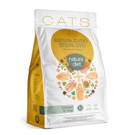 Natura diet cats sterilized chicken para gatos esterilizados